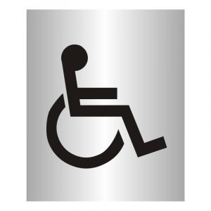 Disabled Toilets Sign