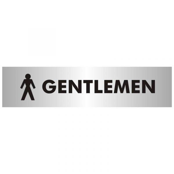 Gentlemens Toilet Sign