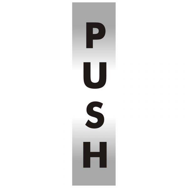 Push Office Door Sign
