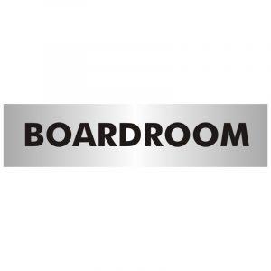 Boardroom Office Door Sign