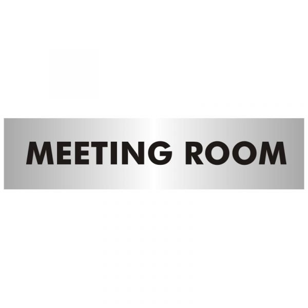 Meeting Room Office Door Sign