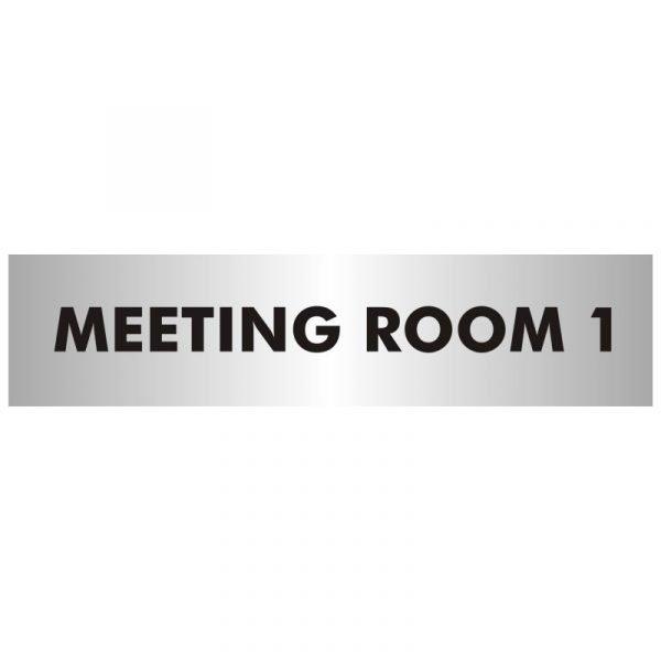 Meeting Room 1 Office Door Sign