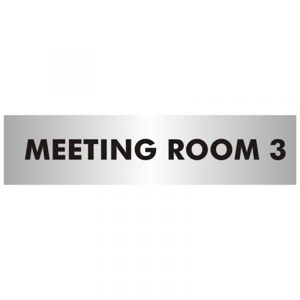 Meeting Room 3 Office Door Sign