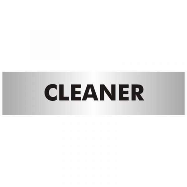 Cleaner Office Door Sign