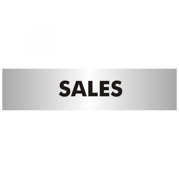 Sales Office Door Sign