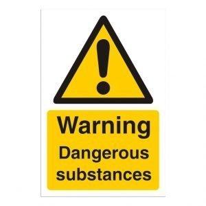 Dangerous Substance Sign