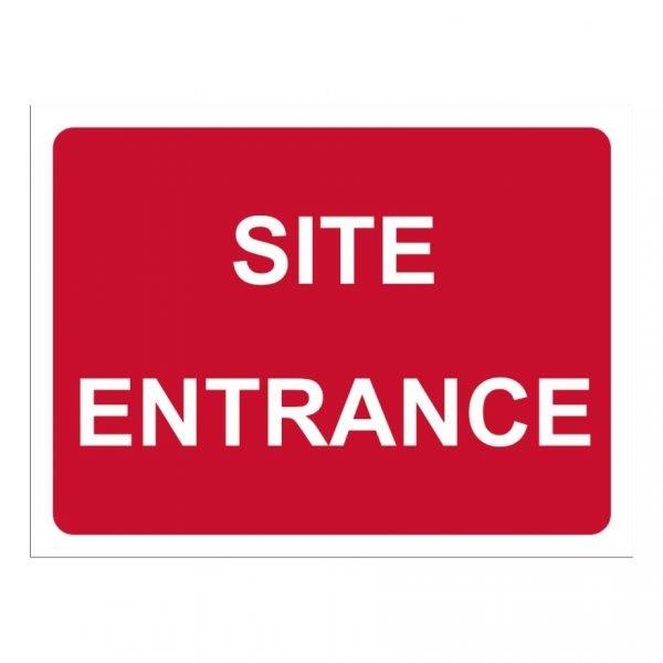 Site Entrance Sign
