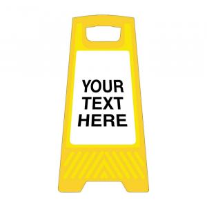 Custom Free Standing Floor Sign