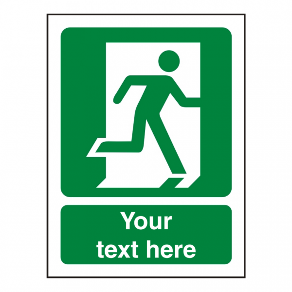 Custom Safe Procedure Sign