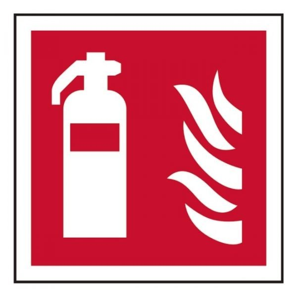 Fire Extinguisher Point Sign