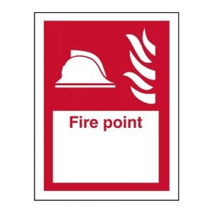 Fire Point Location Sign