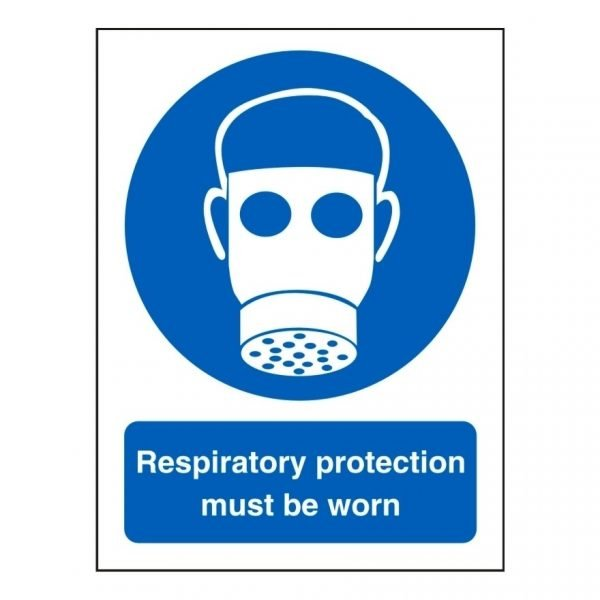 Respiratory Protection Must Be Worn Sign