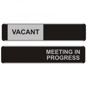 Vacant Meeting In Progress