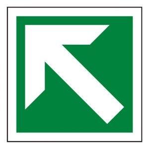 Arrow Up Left Sign