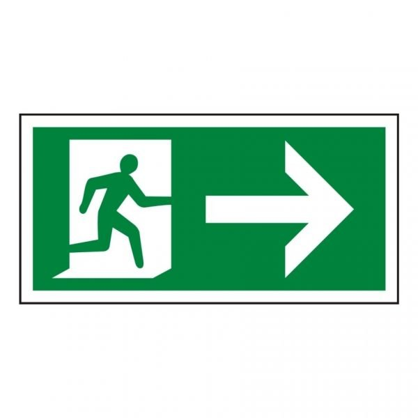 Running Man Arrow Right Sign
