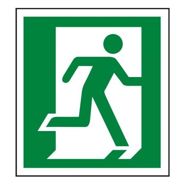 Running Man Right Sign