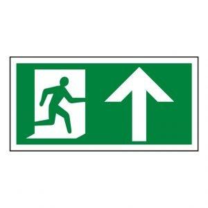 Running Man Arrow Up Sign