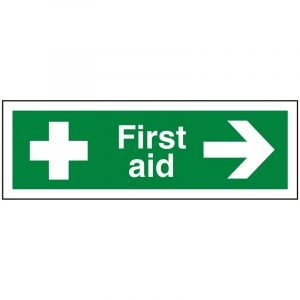 First Aid Right Sign