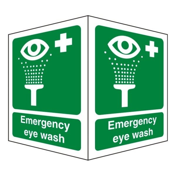 Emergency Eye Wash Double Sided Sign