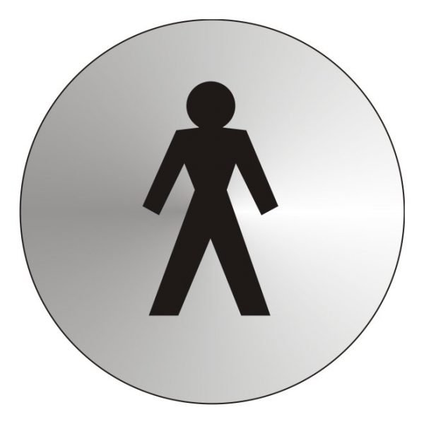 Gentlemens Stainless Steel Sign