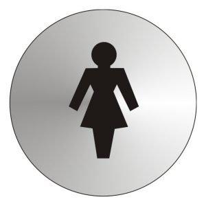 Ladies Stainless Steel Sign