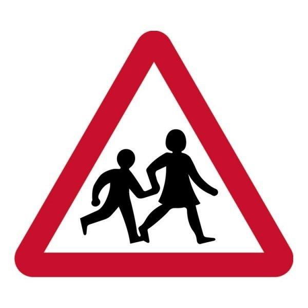 Children Crossing Sign