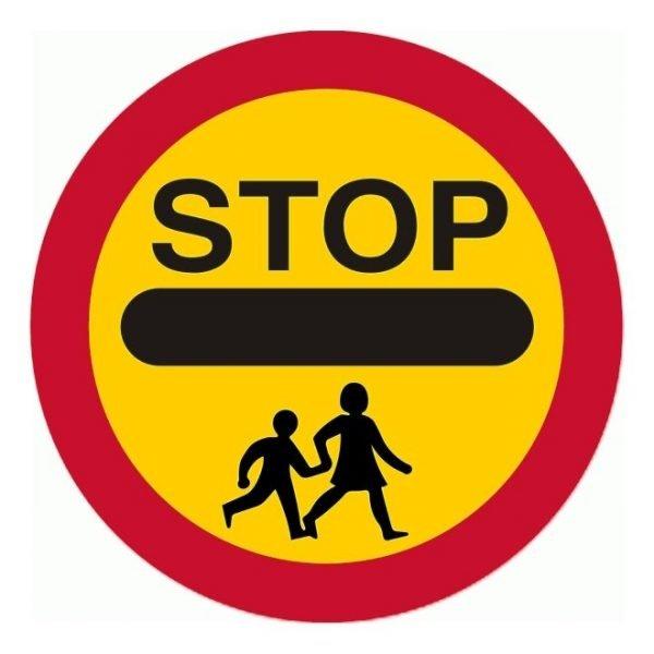 Stop Children Sign