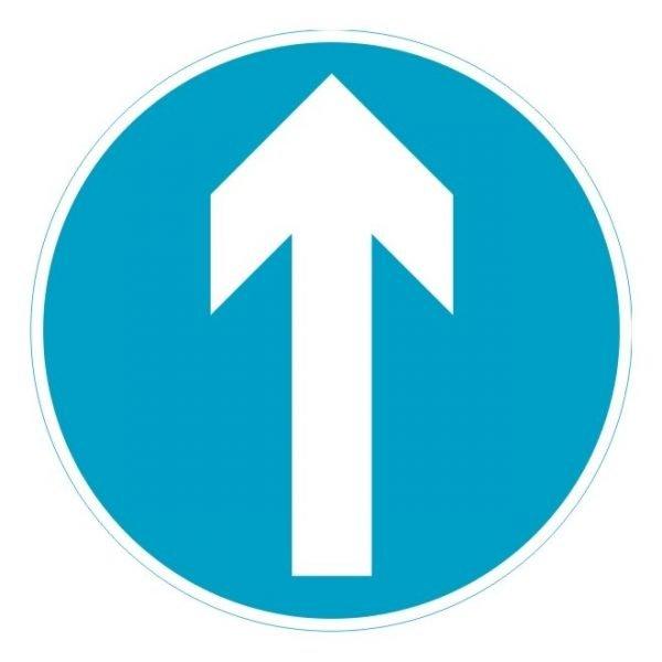 Keep Ahead Sign