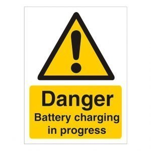 Battery Charging Sign