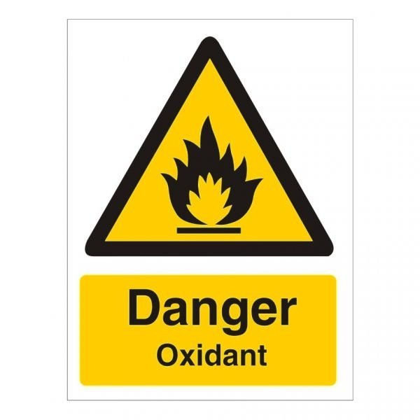 Danger Oxidant Sign