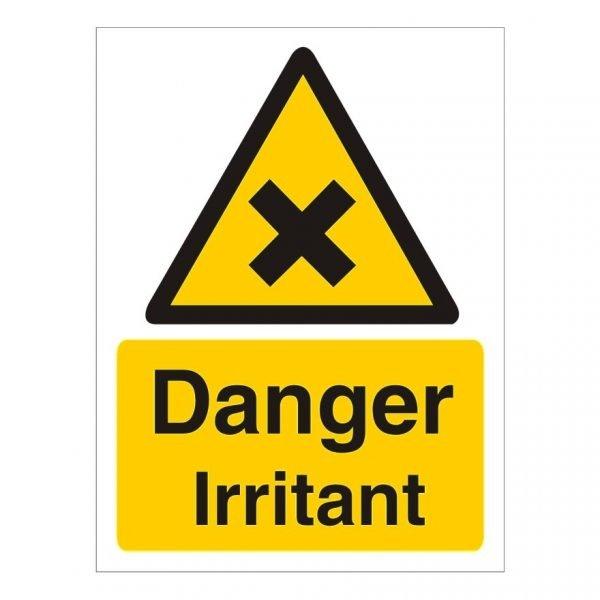 Danger Irritant Sign