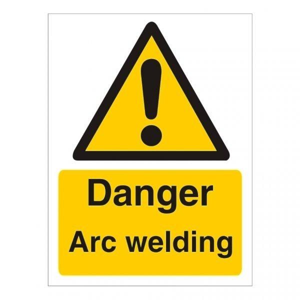 Danger Arc Welding Sign