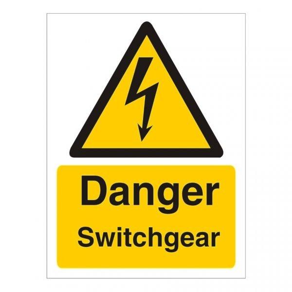 Danger Switchgear Sign