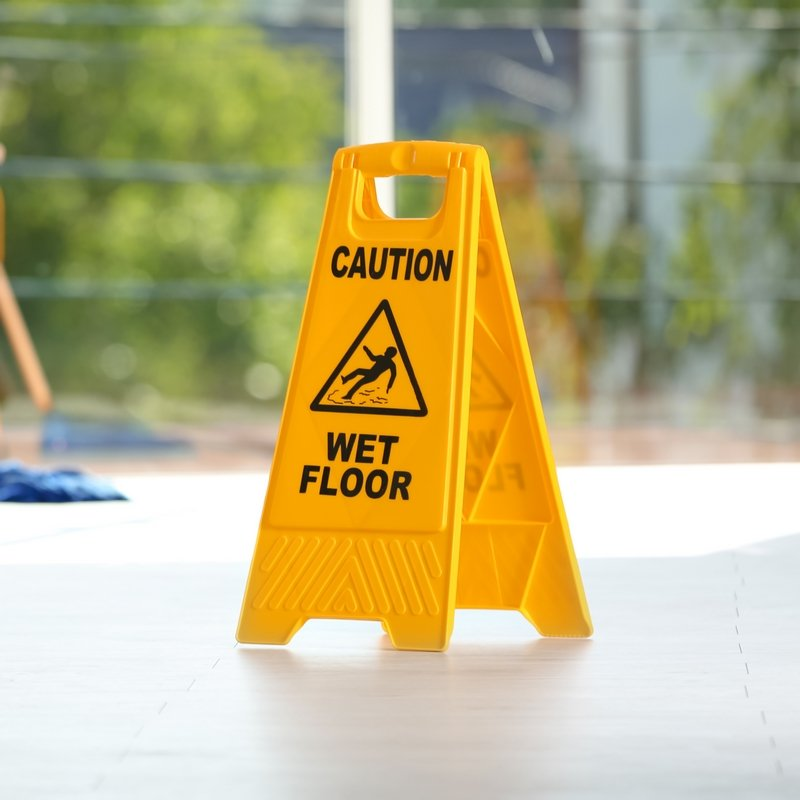 Durable Moulded Plastic (Free Standing Floor Signs)