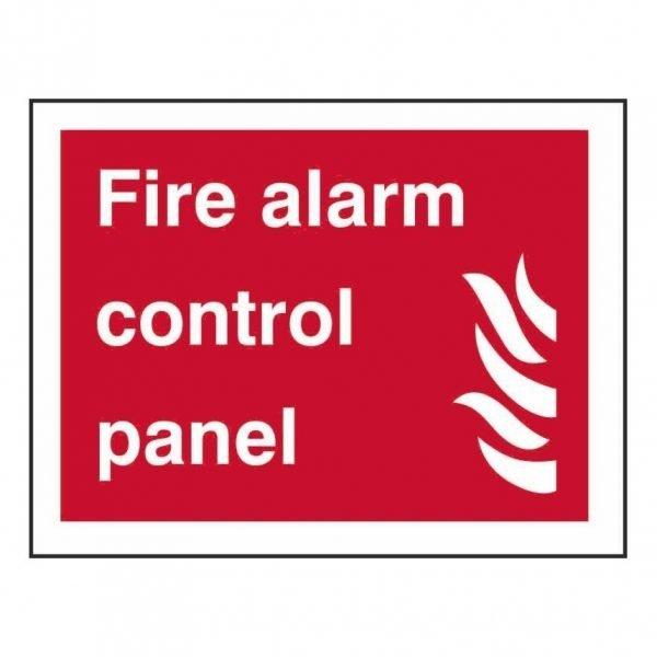 Fire Alarm Control Panel Sign