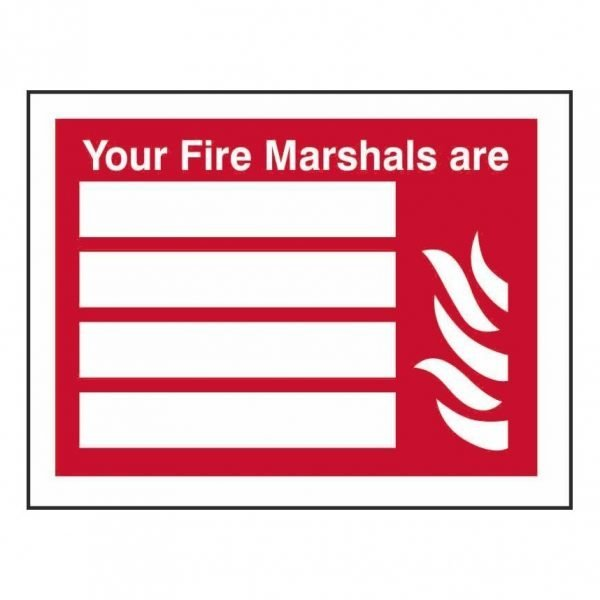 Your Fire Marshals Are Sign