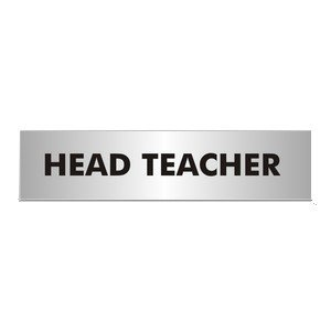 Head Teacher Office Door Sign