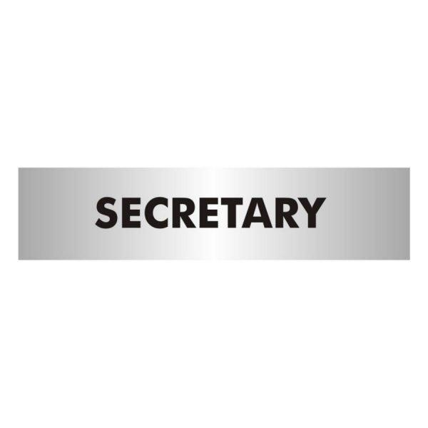 Secretary Office Door Sign